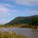 Man made lake in the Rupununi