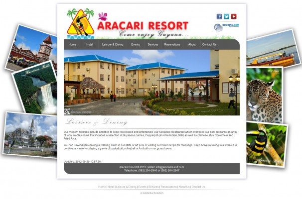 The Hotel Page