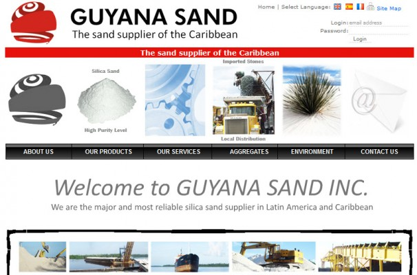 The Main Landing Page