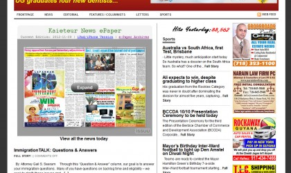 Kaieteur News Website