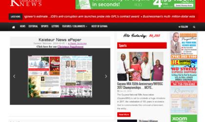 Kaieteur News Website