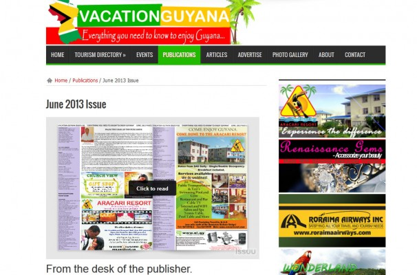 The Publication Page