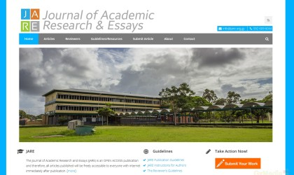 Journal of Academic Research and Essays (JARE)