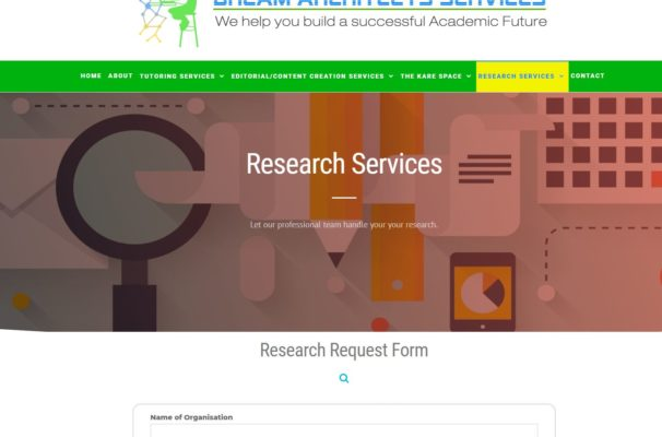 Research Request Form