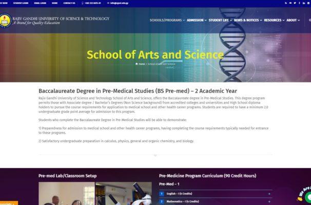 Rajiv Gandhi University of Science and Technology